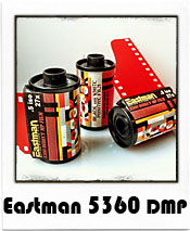 Eastman E5360DMP - 35mm B&W Transparency Film