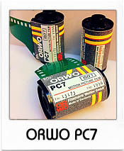 ORWO PC7 35mm film