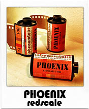 Phoenix Redscale 35mm Film