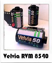 Velvia RVM 8540 35mm film